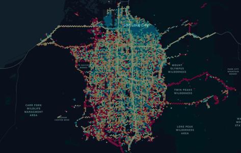 Salt Lake County Dynamic Visualization