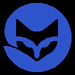 Fox Logo blue small